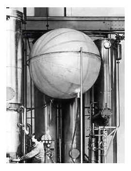 Gasspeicherballone Co2 Kugel